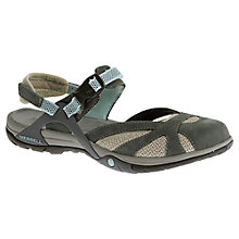 Buy Merrell Azura Wrap Sling-Back Shoes, Grey Online at johnlewis.com
