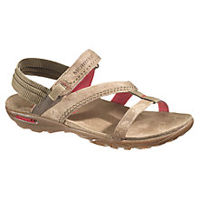 Buy Merrell Mimosa Mace Nubuck Sandals, Cream Online at johnlewis.com