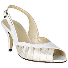 Buy John Lewis Made in England Gresham Cut-Out Detail Leather Sandals Online at johnlewis.com