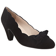 Buy John Lewis Bello Suede Bow Court Heels Online at johnlewis.com