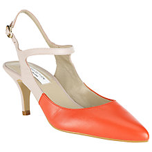 Buy COLLECTION by John Lewis Lecce Leather Slingback Court Shoes Online at johnlewis.com