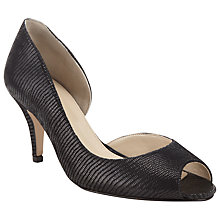 Buy John Lewis Made in England Morston Suede Peep Toe Court Shoes Online at johnlewis.com