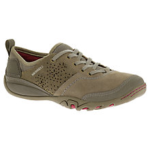Buy Merrell Mimosa Hope Suede Trainers, Brown Online at johnlewis.com