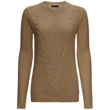 Buy Jaeger Alpaca Cable Knit Sweater Online at johnlewis.com
