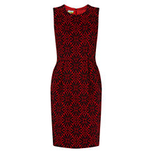 Buy NW3 by Hobbs Florence Dress, Charcoal Red Online at johnlewis.com