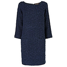 Buy Phase Eight Ria Raschel Dress, Navy Online at johnlewis.com
