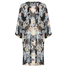 Buy Warehouse Iris Print Kimono, Multi Online at johnlewis.com