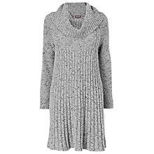 Buy Phase Eight Tiffany Knitted Dress, Grey Fleck Online at johnlewis.com