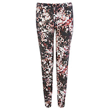 Buy Warehouse Floral Print Trousers, Multi Online at johnlewis.com