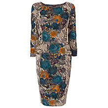 Buy Phase Eight Zita Flocked Dress, Multi Online at johnlewis.com