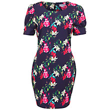 Buy Whistle & Wolf Winter Garden Print Dress, Multi Online at johnlewis.com