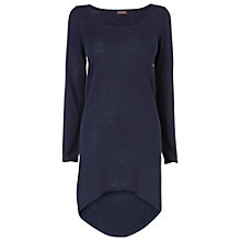 Buy Phase Eight Katrina Ellipse Hem Tunic Dress, Navy Online at johnlewis.com