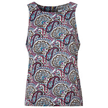 Buy True Decadence Sleeveless Top, Plum / Teal Online at johnlewis.com