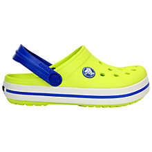 Buy Crocs Kids' Crossband Sandals Online at johnlewis.com