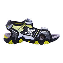 Buy Geox Strike Skull Sandals, Grey/Lime Online at johnlewis.com