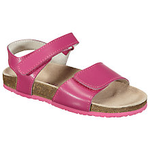 Buy John Lewis Poppy Leather Sandals Online at johnlewis.com