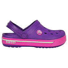 Buy Crocs Children's Crossband Sandals Online at johnlewis.com