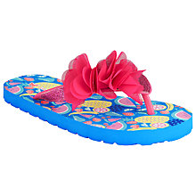 Buy John Lewis Tropical Fruit Flip Flops, Pink/Multi Online at johnlewis.com