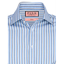 Buy Thomas Pink Quill Stripe XL Sleeve Shirt Online at johnlewis.com