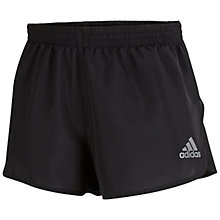 Buy Adidas Supernova Split Running Shorts, Black Online at johnlewis.com