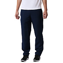 Buy Adidas Stanford Cuffed Training Trousers, Collegiate Navy Online at johnlewis.com