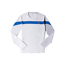Buy Adidas Response Long Sleeve Crew Neck T-Shirt Online at johnlewis.com