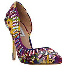 Buy Steve Madden Galactik Embellished High Heeled Courts, Bright Multi Online at johnlewis.com