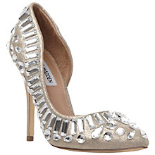Buy Steve Madden Galactik Embellished High Heeled Courts Online at johnlewis.com