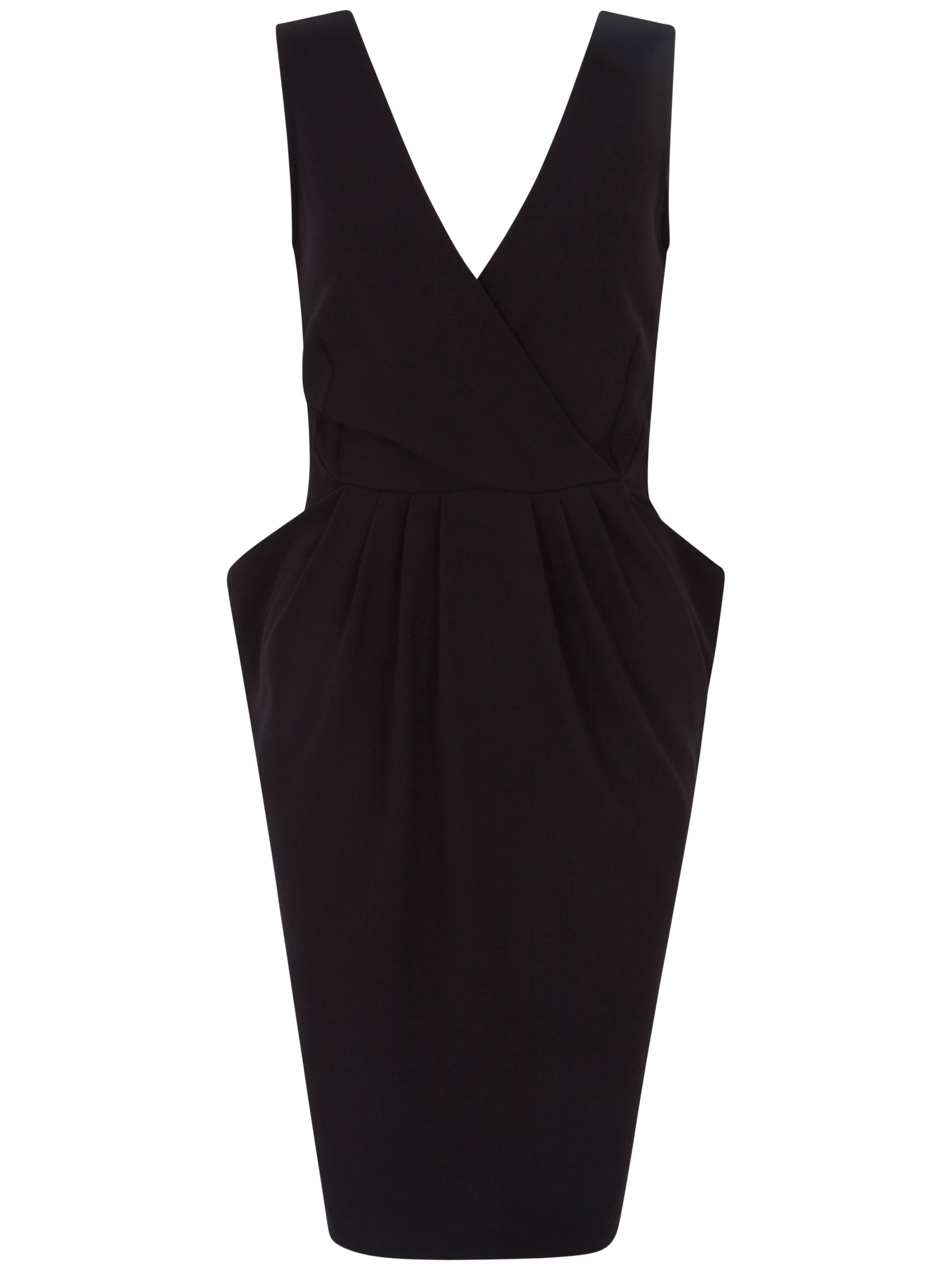 closet cross over big pocket dress black, closet, cross, big, pocket, dress, black, 16|10|14|12|8, women, womens dresses, party outfits, party dresses, 1739754