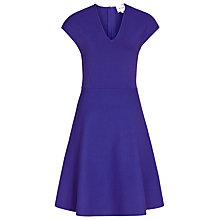 Buy Reiss Renee Fit and Flare Dress, Blue Passion Online at johnlewis.com