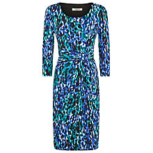 Buy Precis Petite Ikat Animal Print Dress, Multi Dark Online at johnlewis.com
