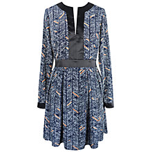Buy Paisie Long Sleeve Print Dress, Multi Online at johnlewis.com