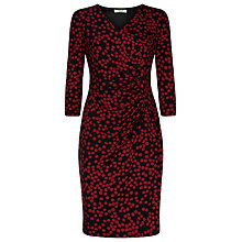 Buy Precis Petite Spot Print Dress, Multi Dark Online at johnlewis.com