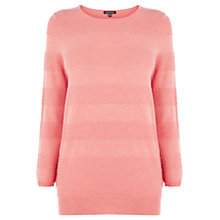 Buy Warehouse Textured Stripe Jumper Online at johnlewis.com