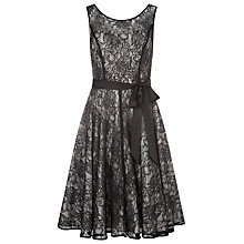 Buy Kaliko Lace Prom Dress, Black Online at johnlewis.com