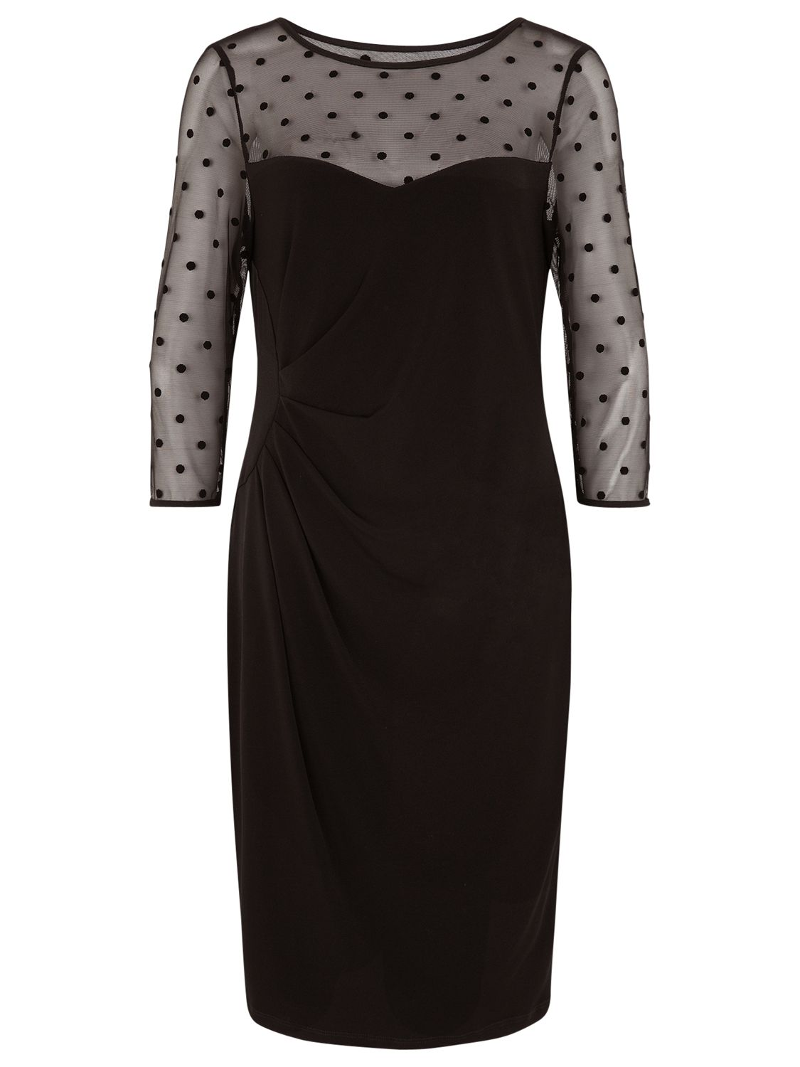 planet flocked spot jersey dress black, planet, flocked, spot, jersey, dress, black, 8|10|16|12|14, clearance, womenswear offers, womens dresses offers, new years party offers, women, plus size, inactive womenswear, new reductions, womens dresses, special offers, edition magazine, little black dress, 1741393