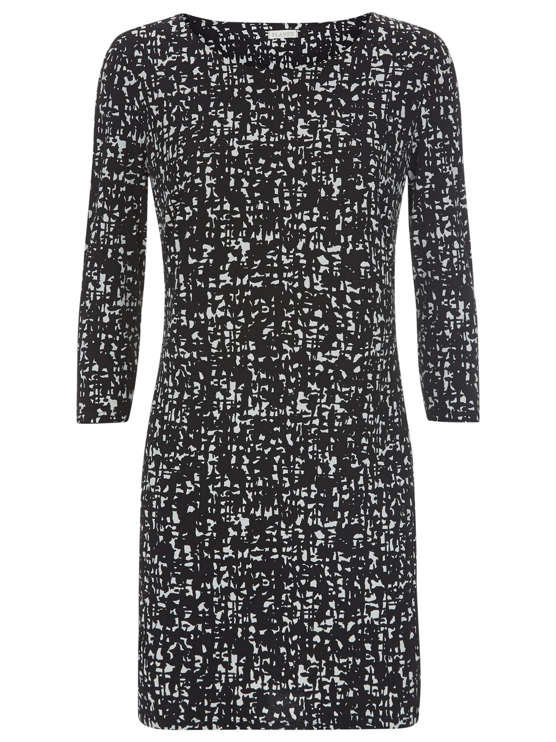 planet speckle print border tunic black, planet, speckle, print, border, tunic, black, s xl, clearance, womenswear offers, womens dresses offers, women, inactive womenswear, new reductions, womens dresses, special offers, 1743401