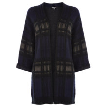 Buy Warehouse Brushed Check Cardigan, Multi Online at johnlewis.com