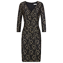 Buy Kaliko Two Tone Dress, Black / Gold Online at johnlewis.com