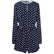 Buy Paisie Polka Dot Playsuit Online at johnlewis.com