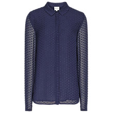 Buy Reiss Springer Silk Shirt Online at johnlewis.com