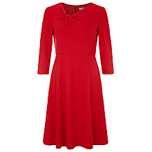 Buy Kaliko Twist Neck Ponte Dress, Red Online at johnlewis.com