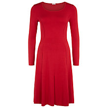 Buy Kaliko Knitted Dress, Red Online at johnlewis.com