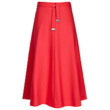 Buy Reiss Emilia High-Waisted Flared Midi Skirt Online at johnlewis.com