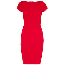 Buy Closet Waffle Bodycon Dress, Red Online at johnlewis.com