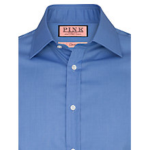 Buy Thomas Pink Edmond Plain Shirt, Blue Online at johnlewis.com