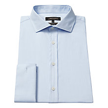 Buy Jaeger Herringbone Double Cuff Shirt Online at johnlewis.com