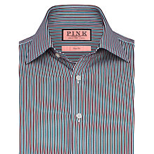 Buy Thomas Pink Maikel Stripe Shirt, White/Red Online at johnlewis.com