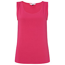 Buy COLLECTION by John Lewis Shoulder Vest Top, Pink Online at johnlewis.com