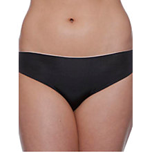 Buy Chantelle Irresistible Brazillian Briefs, Black Online at johnlewis.com